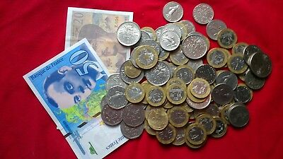 France Collection / Bulk / Job Lot Coins &notes Pre Euro 570 francs