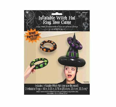 FANCY DRESS Inflatable Witch Hat Ring Toss Games