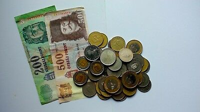 Hungary Collection / Bulk / Job Lot Coins &notes Pre Euro 2500 forint