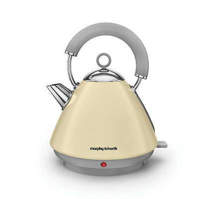Morphy Richards 102032 Accents Cream Traditional Kettle