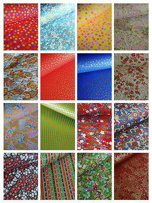 Traditional Japanese Chiyogami Washi Yuzen Paper ~ 100 Large Sheets 61 x 45cm