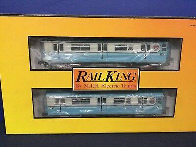 Railking MTA R-36 Subway Worlds Fair 2 Car Non Powered O Gauge