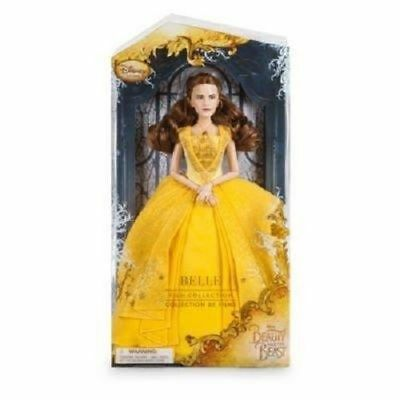 DAMAGED BOX - Disney Store Beauty & The Beast Film Collection Belle Deluxe Doll