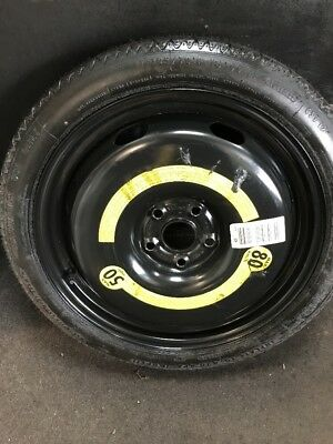 Vw Audi /A3 Passat Golf 6/7 Seat 125/70/18  Space Saver Spare Wheel Continental