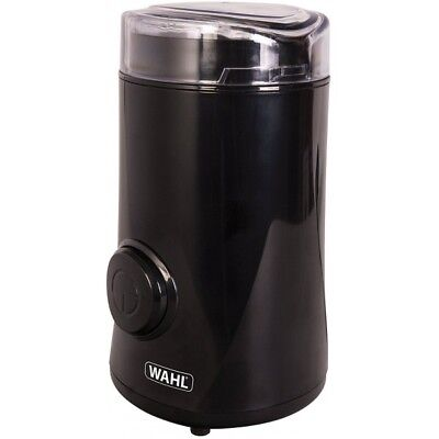Wahl Coffee Spice Electric Grinder 60g Powerful with Pulse - 150W, Black, ZX931!