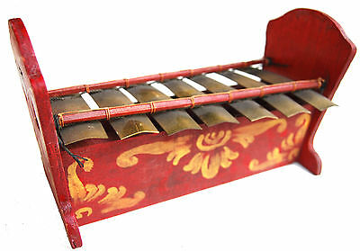 Fair Trade Indonesian Traditional Gamelan 7 note saron handmade balinese bali