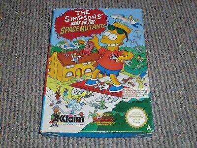 Nintendo Nes - The Simpsons Bart Vs The Space Mutants - Box Only