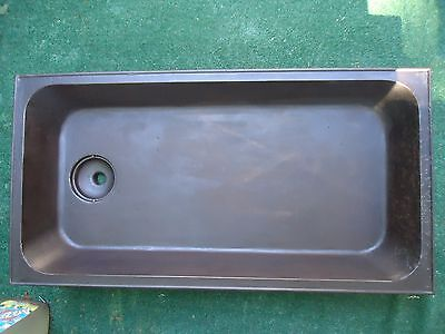 Antique  Laundry Sink  Basin,maine,cast Iron,1889-1910's,restoration,forge Smith