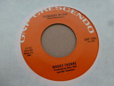 Woody Thorne Sadie Lou / Teenagers In Love Gnp Crescendo Excellent Rare