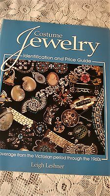 COSTUME JEWELRY COLLECTOR BOOKS LOT OF 3 WARMAN SCHIFFER LESHNER Paperbacks