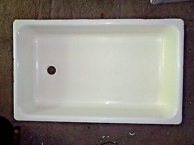Antique Laundry Sink  Basin,porcelain  Enamel Iron,standard Sanitary Co,1926-36
