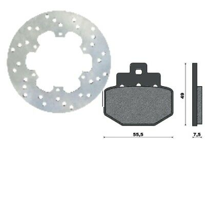 One - Set Disc E Brake Pads Piaggio Liberty 50/200 - Vespa Gts 125/300