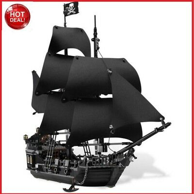 THE BLACK PEARL Pirates of the Caribbean 4184 pirate ship Lego compatible 16006!