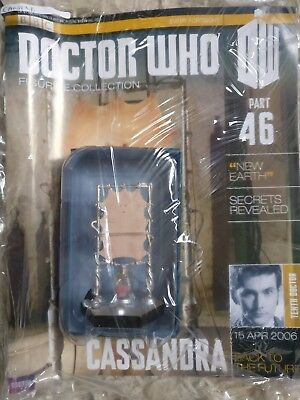 Doctor Who Figurine Figure Collection Eaglemoss Cassandra Part 46
