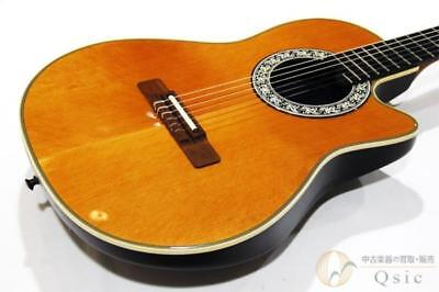 Ovation 1863-4 Classical Guitar Excellent condition Used sound Vintage japan