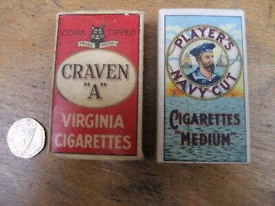 Unused WW2 British Army NAAFI cigarettes for HM Forces + Craven A