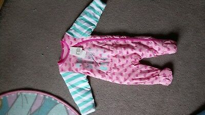 girls sleepsuits 3-6 months