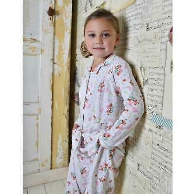 Girls Pyjamas Cosy/Winter Jersey 100% Cotton Owl & Pussycat Age 1-9Powell Craft