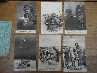 Complete set Fragments from France, series 2, Bruce Bairnsfather