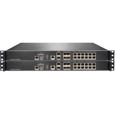 NEW SonicWALL 01-SSC-3851 NSA 3600 Network Security Appliance Security/Firewall
