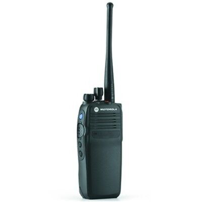 Motorola DP3400 UHF radio with battery and charger