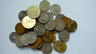 Japan Collection / Bulk / Job Lot Coins 330 yen