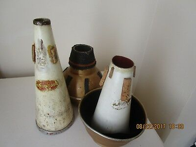 2 Vintage Shastock  Cup Mutes - + I Other Vintage Mute