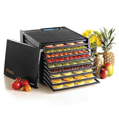 Food Dehydrator Machine 9 Trays Electric Organic Jerky Meat Vegetables Fruit