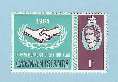mjstampshobby 1965 UK Cayman Islands SG#186 Mint LH Mark OG (Lot3895)