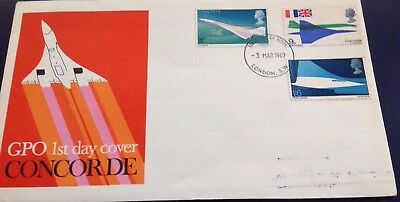 GB Concorde 1969 First Day Cover