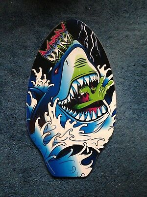 Shark wooden body board (never used) £5
