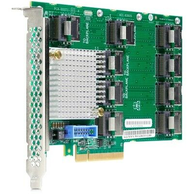 NEW HPE 727250-B21 12Gb SAS Expander Card with Cables for DL380 Gen9 Controller