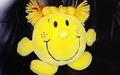 Little Miss Sunshine Teddy.. Plush.. Cuddly..very good condition.Very soft 9inch
