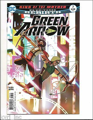GREEN ARROW #7 1st PRINT SINS OF THE MOTHER EMIKO QUEEN DC UNIVERSE REBIRTH  F