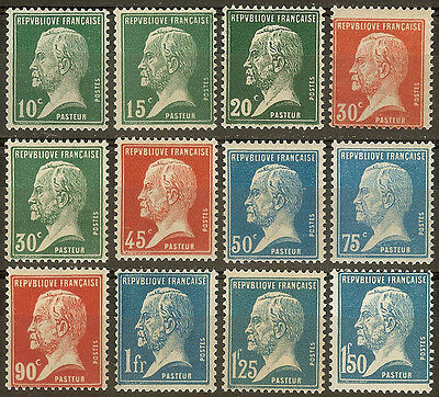 Yvert. France Pasteur. Nº 170/81. New Without Fijasellos. Beautiful