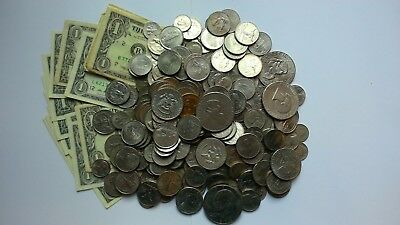 USA Collection / Bulk / Job Lot Coins & notes 56 dollars