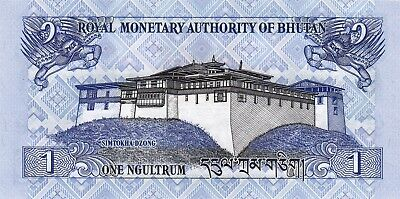 BHUTAN 1 NGULTRUM 2013 P-27b UNC - only 1 postage for the next auctions from me