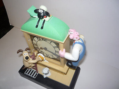Wallace and Gromit Collectible Animated Alarm Clock