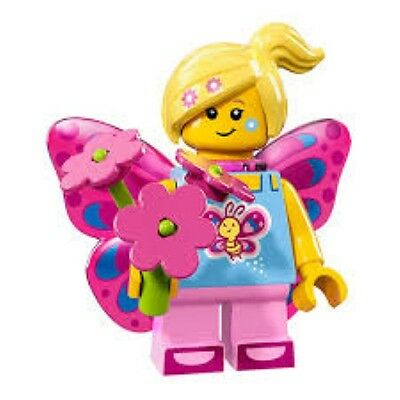 Lego Minifigure Series 17 Butterfly Girl