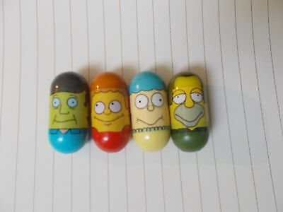 The Simpsons Mighty Beanz Lot, Principal Skinner #23, Todd Flanders #9, Lenny #7
