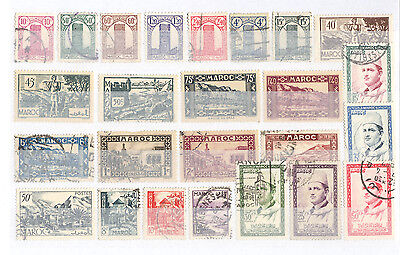 Morocco - Lot of mint and used Stamps (4)