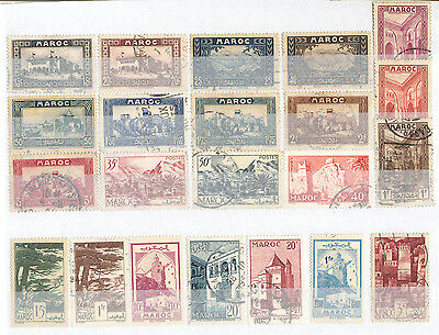 Morocco - Lot of mint and used Stamps (2)
