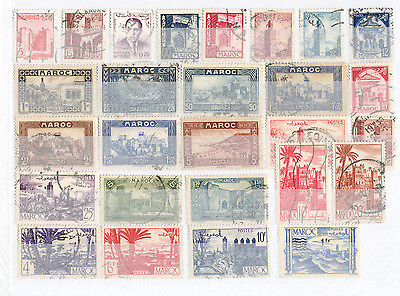 Morocco - Lot of mint and used Stamps (1)
