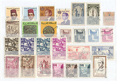 Morocco - Lot of mint and used Stamps (3)