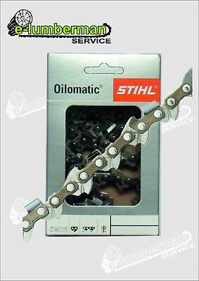 "Genuine Stihl RMS Chainsaw Carving Chain 1/4"" 1.3mm 050"" Jonsered 36 AV, 365"