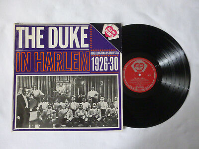 THE DUKE(ELLINGTON) IN HARLEM 1926-30 ~ AH 47 ~ NrM/EX+ ~ 1963 UK JAZZ VINYL LP
