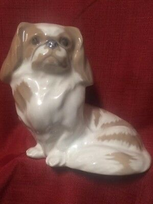"Royal Copenhagen (1889 - 1922) | 4.75"" Pekingese Puppy 