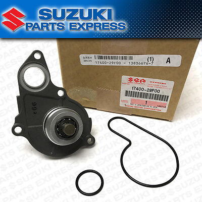New 2000 - 2005 Suzuki Drz Dr-Z 400E 400S Oem Water Pump Assembly W/ Gaskets