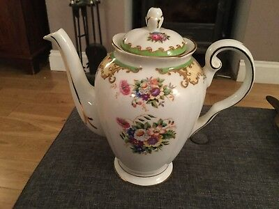 tuscan fine bone china lorraine coffee/tea pot.