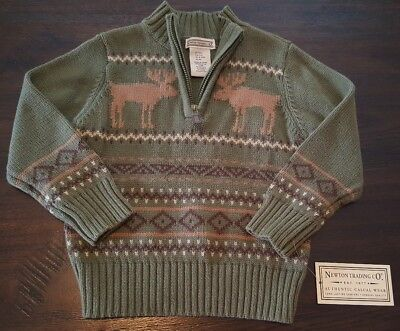 NWT Newton Trading Company Infant Baby Boys Size 12 18 Months Pull Over Sweater
